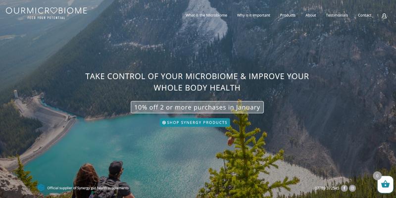 Portfolio: Our Microbiome