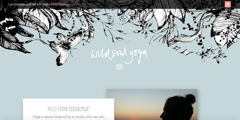 Portfolio: Wild Soul Yoga