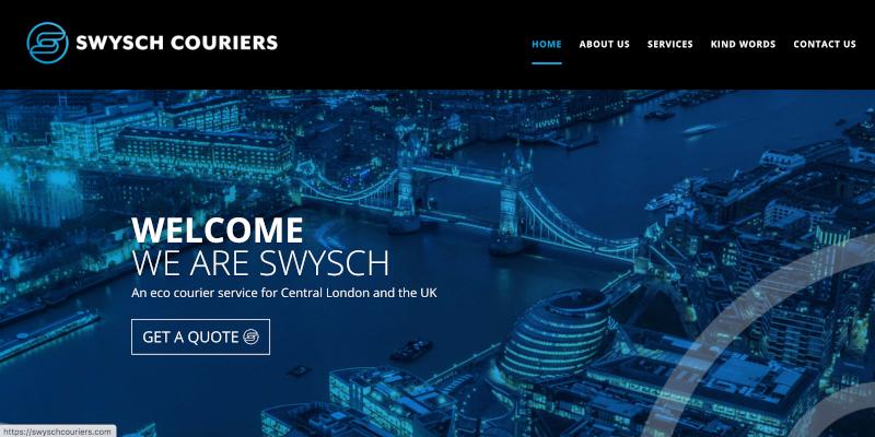 Portfolio: Swysch Couriers