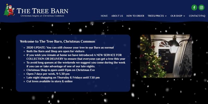 Portfolio: The Tree Barn